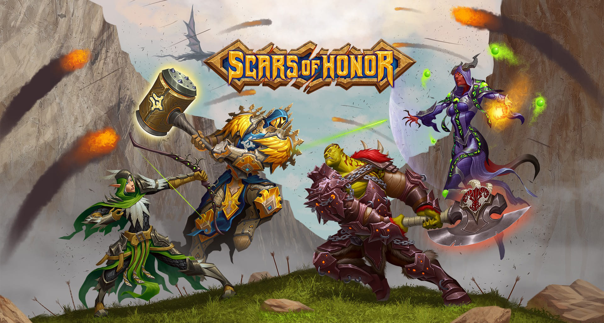 Scars Of Honor Wallpaper